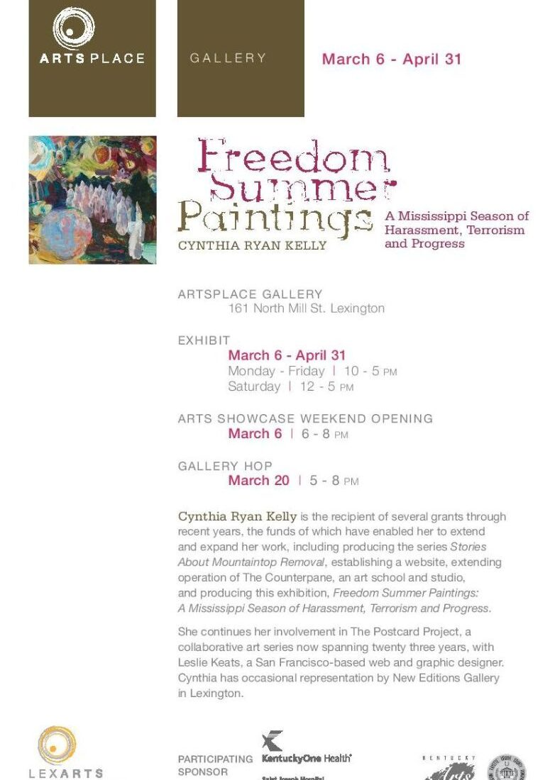 ART Exhibit Freedom Card