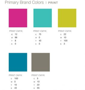 LexArts Brand Guidelines Primary Brand Colors - Print
