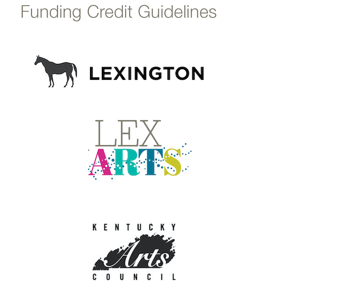 LexArts Brand Identity Funding Credit Guidelines